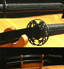 41' DAMASCUS FOLDED STEEL BLACK QUALITY  JAPANESE SAMURAI SWORD CANADA