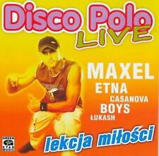 Disco Polo Live - Lekcja milosci  (CD)   NEW  POLISH