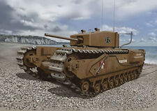 Dragon 7510 1/72 Plastic British Churchill MKIII, Dieppe