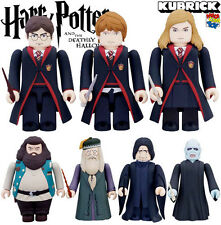 MEDICOM HARRY POTTER DEATHLY HALLOWS KUBRICK FIGURE SET 7 PCS NEW