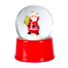 Christmas Santa Claus Snow Globe Snowglobe Xmas Decoration Ornament Festive New