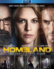 Homeland: The Complete Third Season (Blu-ray Disc, 2014, 3-Disc Set)
