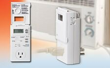 Automatic Programmable Thermostat Control Window AC/Electric Space Heaters 120V