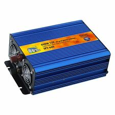 600W 12V pure sine wave power inverter for caravan, campervan, yacht or backup