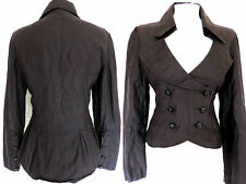 SEXY FITTED JACKET GOTHIC MILITARY STEAMPUNK RIDING MISTRESS WHITBY DANDY 12