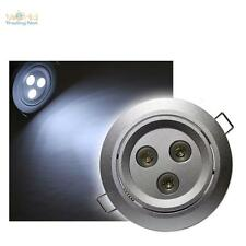 Juego de 3 SET downlight LED 3x 3W CREE POTENCIA LEDs BLANCO