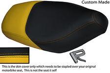 YELLOW & BLACK VINYL CUSTOM 180 200 VXR 1998-2006 FITS GILERA RUNNER SEAT COVER