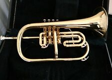 Blessing Artist Four Valve Flugelhorn  with Hard Case and Mouthpeice