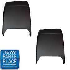 1973-81 Pontiac Bucket Seat Backs - Pair - Black
