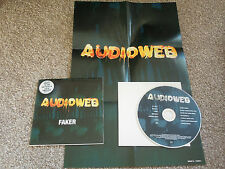 Audioweb ‎– Faker [CD Single + Poster] Orb Dub Pistols Lionrock