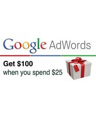 "$100USD Google Adwords PromotionalCode2017,USA only""Exclusive offer/fresh stock"""