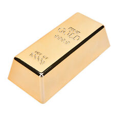 1 Pcs Beautiful Brick Ingot Gold Bar Replica Props Nice Gift Decoration Movie