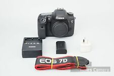 *Mint* Canon EOS 7D  18.0MP DSLR Camera Body Only - Low Shutter Count