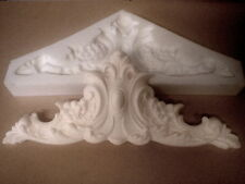 silicone rubber mould Large Ornate Pediment