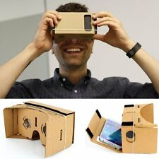Google Cardboard DIY 3D VR Virtual Reality Viewing Glasses for iPhone Smartphone