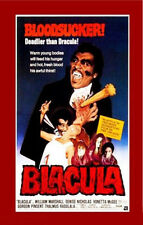 24X36Inch Art BLACULA Movie Poster Horror Blaxploitation Rare Vampire P030