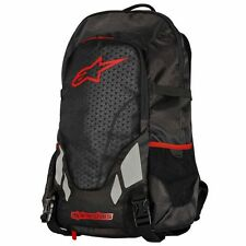 ALPINESTARS ROVING BACKPACK BAG REFLECTIVE GEAR MOTORCYCLE BIKE BLACK/RED