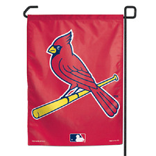 "St Louis Cardinals Polyester 11""x15"" Garden Yard Wall Flag MLB"