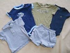 Baby Toddler boy one piece shirts & shorts size 6 to 12 months / Old Navy/Gap/Ca
