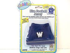 WEBKINZ  BLUE FOOTBALL JERSEY