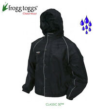 frogg toggs Road Toad Motorcycle Rain Jacket 3X-Large Black FT63132-01 Rain Wear
