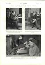 1905 Scenes From John Chilcote Mp St James's Theatre Yvette Guilbert