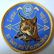 Insigne Patch AERONAVALE MARINE FLOTTILLE HELICOPTERES 31 F WG 13 LYNX LUTTE ASM
