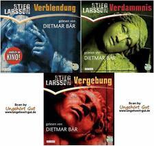 Stieg Larsson - Millennium Trilogie Verblendung Verdammnis Vergebung 24 CDs NEU