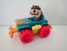 Vintage 1992 Taz TASMANIAN DEVIL in car toy McDonalds Happy Meal