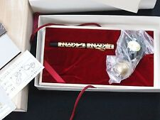 Platinum Limited Ed. Arabesque 70th Anniversary Gold Filigree Fountain Pen 200