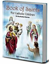 The Book of Saints For Catholic Children HC Book NEW COMMUNION GIFT!