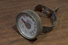 Termometro Vintage per tubo stufa, anni '60, bellissimo, funziona perfettamente!