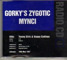 (DO806) Gorky's Zygotic Mynci, Young Girls & Happy Endings - 1997 DJ CD