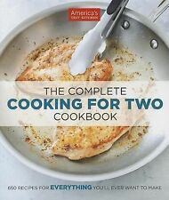 The Complete Cooking For Two Cookbook, Editors at America's Test Kitchen, Books