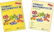 Singapore Math Primary Math 1A textbook + 1A workbook US ED-FREE Expedited Ship