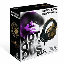 RBH-5260 Notorious B.I.G. Section8 Super Bass DJ Headphones