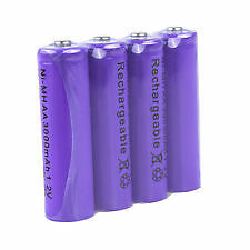 AAA Size Ni-MH Rechargeabl Battery Cell (4Pcs) 1.2V 1800mAh