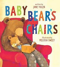 Baby Bear's Chairs (Golden Kite Awards), Jane Yolen, Good Condition, Book