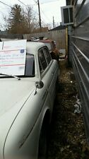 RENAULT DAUPHINE PARTS SALVAGE YARD. HOOD, TRUNK LIDS,  FENDERS AND MORE.