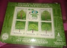 Malaysia 2000 Forest Research MS Stamp MNH fv 50 sen x 2 PCs