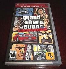 *FACTORY SEALED*  Grand Theft Auto: Liberty City Stories (Greatest Hits Edition)