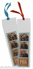 Clear Photo Booth Bookmark Sleeves 100 pack