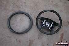 2002 NISSAN MAXIMA STEERING WHEEL CIRCLE W/ COVER PAD STEER AUTO 02
