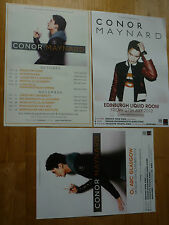 Conor Maynard UK tour concert gig posters x 3