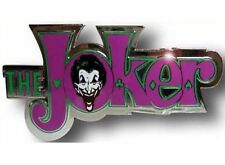 Batman Joker Belt Buckle Usa American Superhero Comics Logo Gothic Western Rodeo