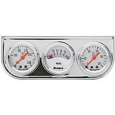 NEW DRAG STYLE SUNPRO GAUGES TEMP AMPS OIL