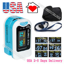 USA Stock OLED Fingertip Pulse Oximeter Blood Oxygen SPO2 Monitor Pulse Rate,FDA