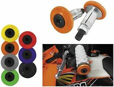 Cycra Racing Motorcycle MX Handlebar Grip Armor Bar End Set ORANGE 0010-22