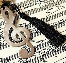 FD1603 Music Note Alloy Bookmark Novelty Ducument Book Marker Label Stationery