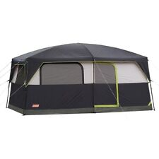 COLEMAN Prairie Breeze 9 Person WeatherTec Camping Tent Fan & Light 14 x 10' NEW
